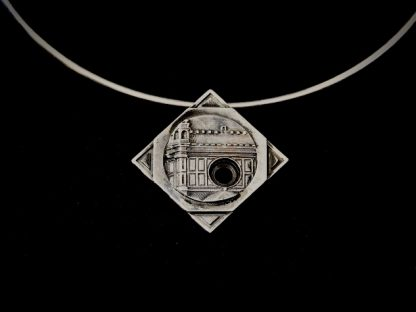"""Giordano Pini - Sculture da indossare - Girocollo """"Santa Maria del Fiore"""" in argento"""