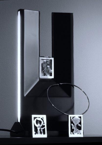 Giordano Pini - Sculture da indossare - Gioiello illuminante
